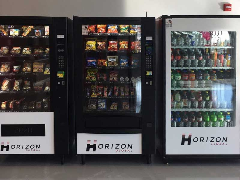 Vending machines and services in Kansas City