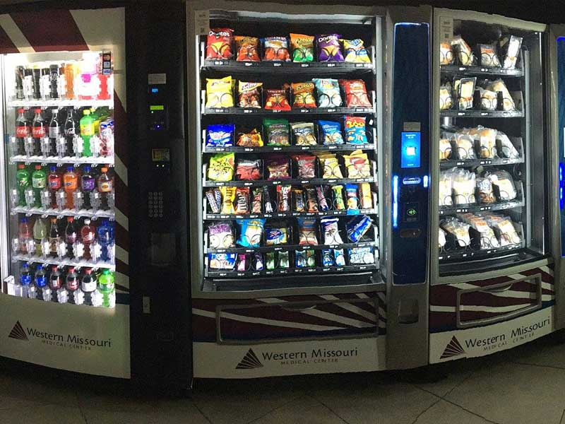 Vending machines in Kansas City